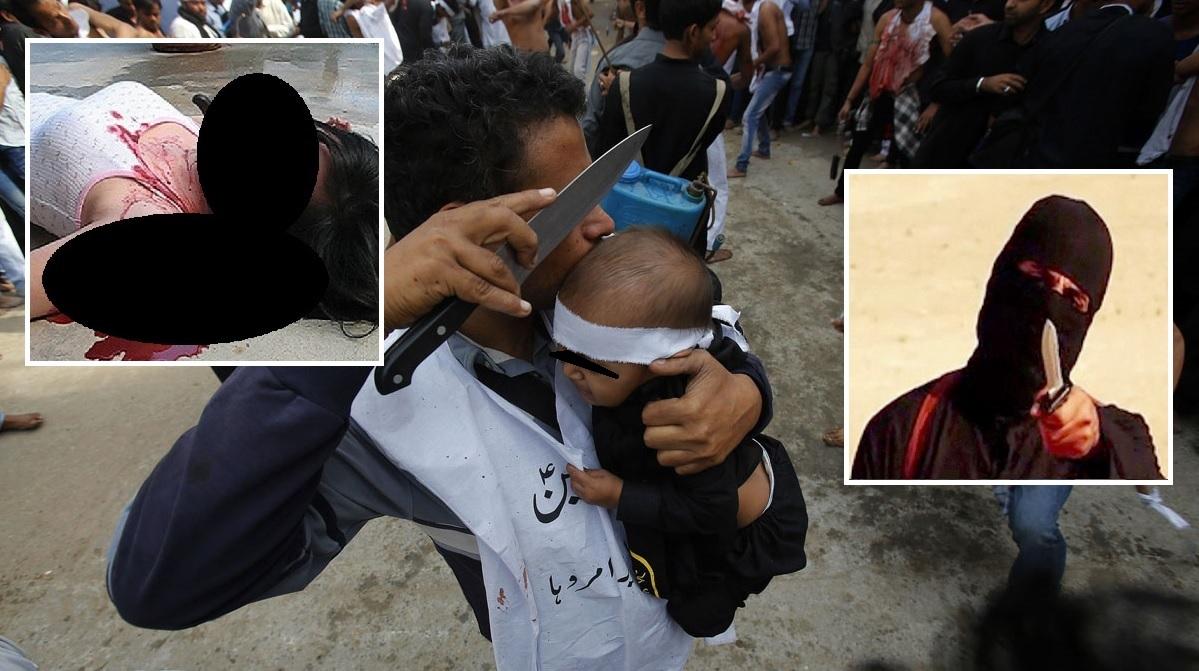 Syrer sticht Frau samt 3 Kinder ab und versucht Säugling zu verbrennen – lebendig!