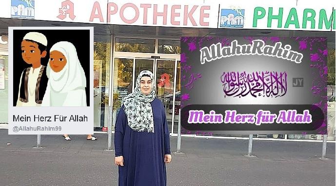 die trkische kopftuchfrau in ganzkrpergewandt bewarb sich in dieser kluft dreist bei einem apotheker - Bewerbung Auf Trkisch