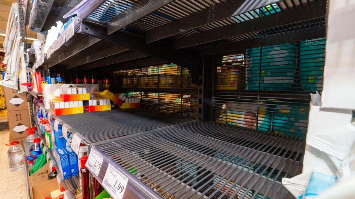 Hamsterkäufe Deutschland